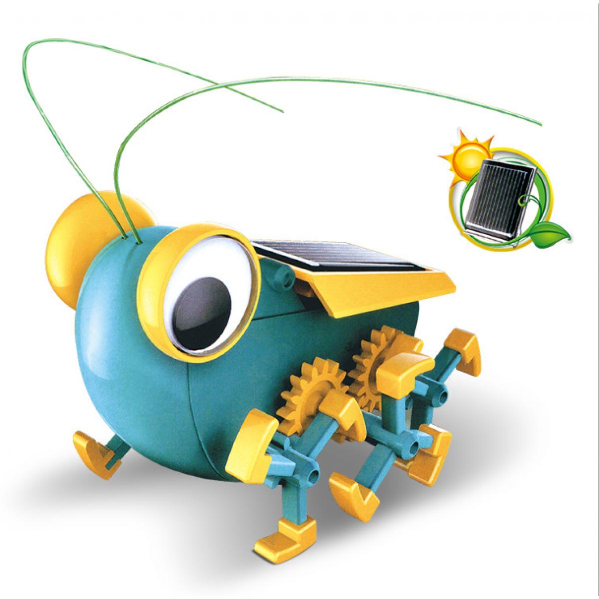 mini science solar robot toy - GARDEN