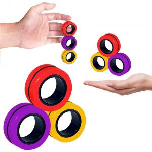 Magnetic Ring Props Finger Training