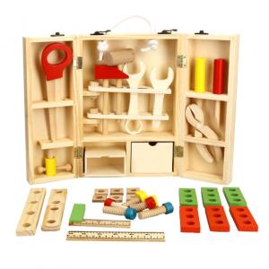 Educational Kids Wooden Tool Kits