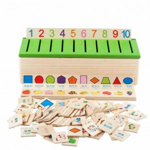 Kids Toy Wooden Classification Box