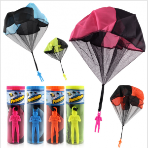 Hand Throw Soldier Parachute Toy
