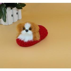 Simulation dog plush toys