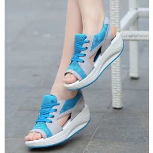 Sport Breathable Platform Sandals Shoes