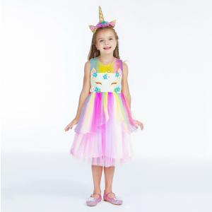 Unicorn Costume Princess Party Dress