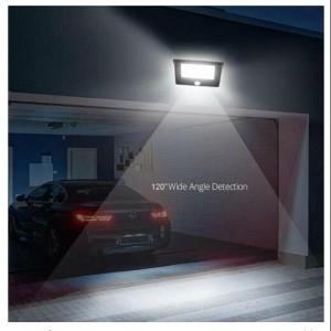 LED 3 Sides Solar Powered Sensor Lights