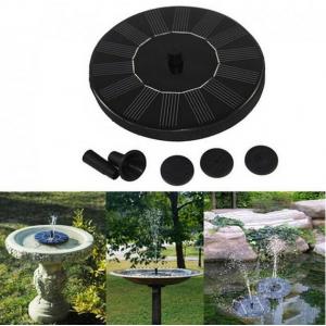 Solar Powered Garden Water Pump Fountain