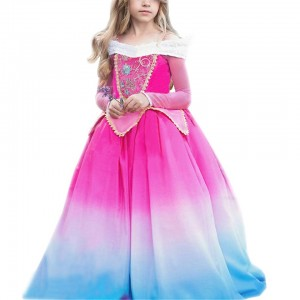 Kids Halloween Cosplay Princess Dress